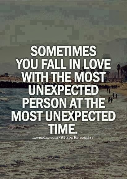 Quotes About Finding Love Unexpectedly Quotesgram