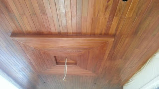 jual plafond kayu kumea
