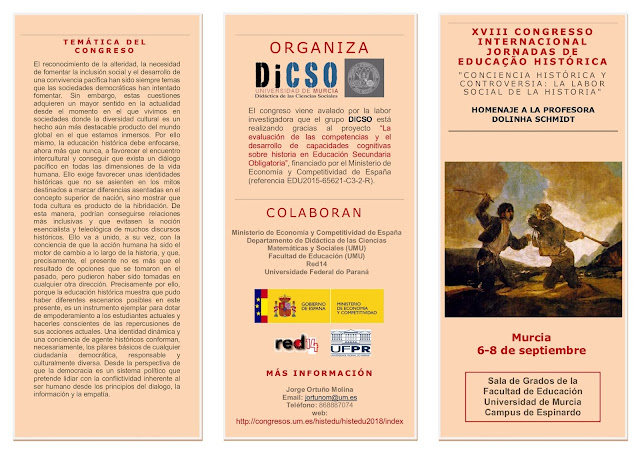 XVIII Congreso Internacional de Educación Histórica