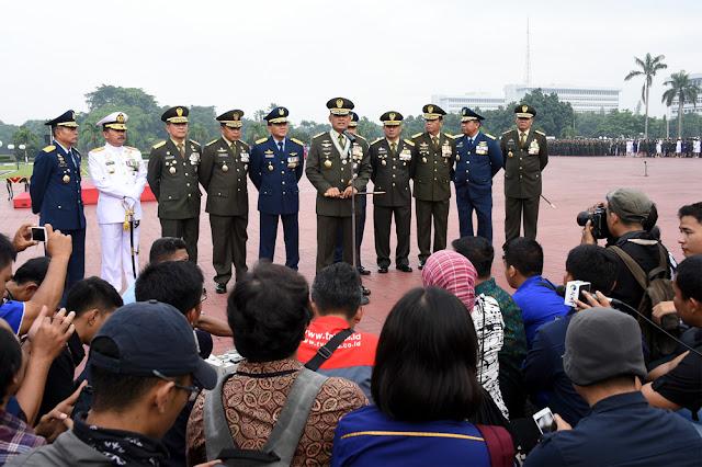 Panglima TNI : Kesejatian TNI Adalah Bersama Rakyat