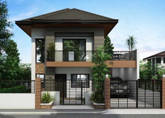 Desain Rumah Minimalis 2 Lantai - Gambar Rumah Idaman