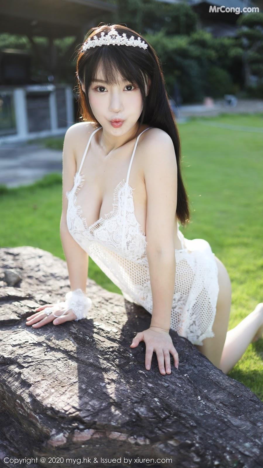 MyGirl Vol.423: Zhu Ke Er (朱 可 儿 Flower) (41 pictures)
