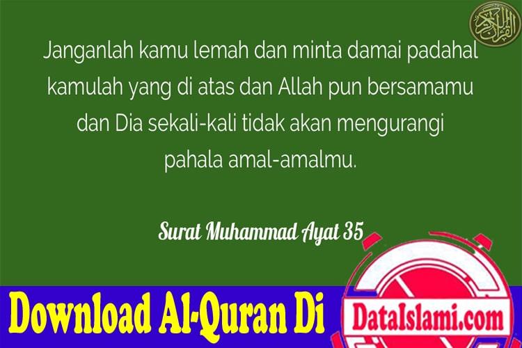 Download Surat Muhammad Mp3 Lengkap Ayat 1 38 Data Islami