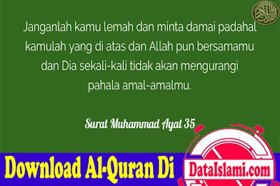 Download Surat Muhammad Mp3 Lengkap Ayat 1-38