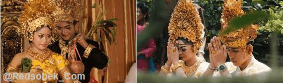 Pernikahan Hindu bali