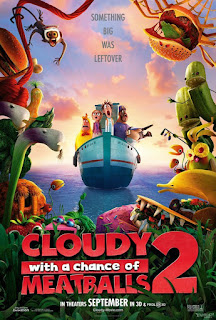 Cloudy with a Chance of Meatballs 2 2013 Movie Hindi Dual Audio BluRay 720p [950MB]