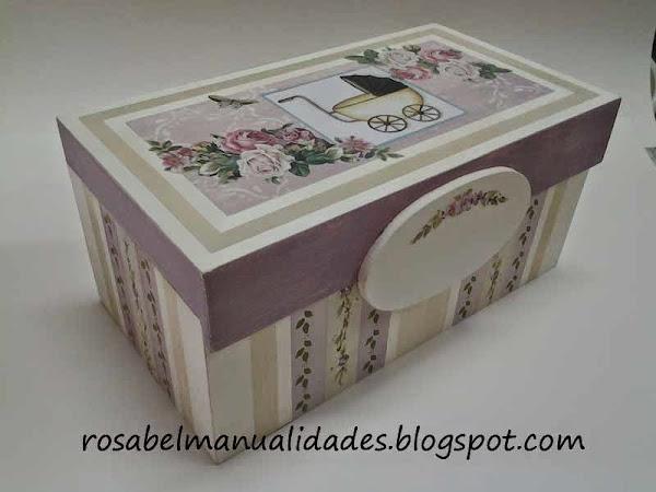 Cajas decoradas con decoupage aprender manualidades es - Manualidades cajas decoradas ...