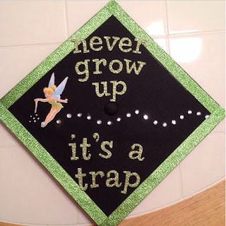 Holidays homeschool home disney graduation caps for Accounting graduation cap decoration