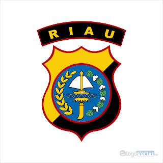 Polda Riau Logo vector (.cdr)