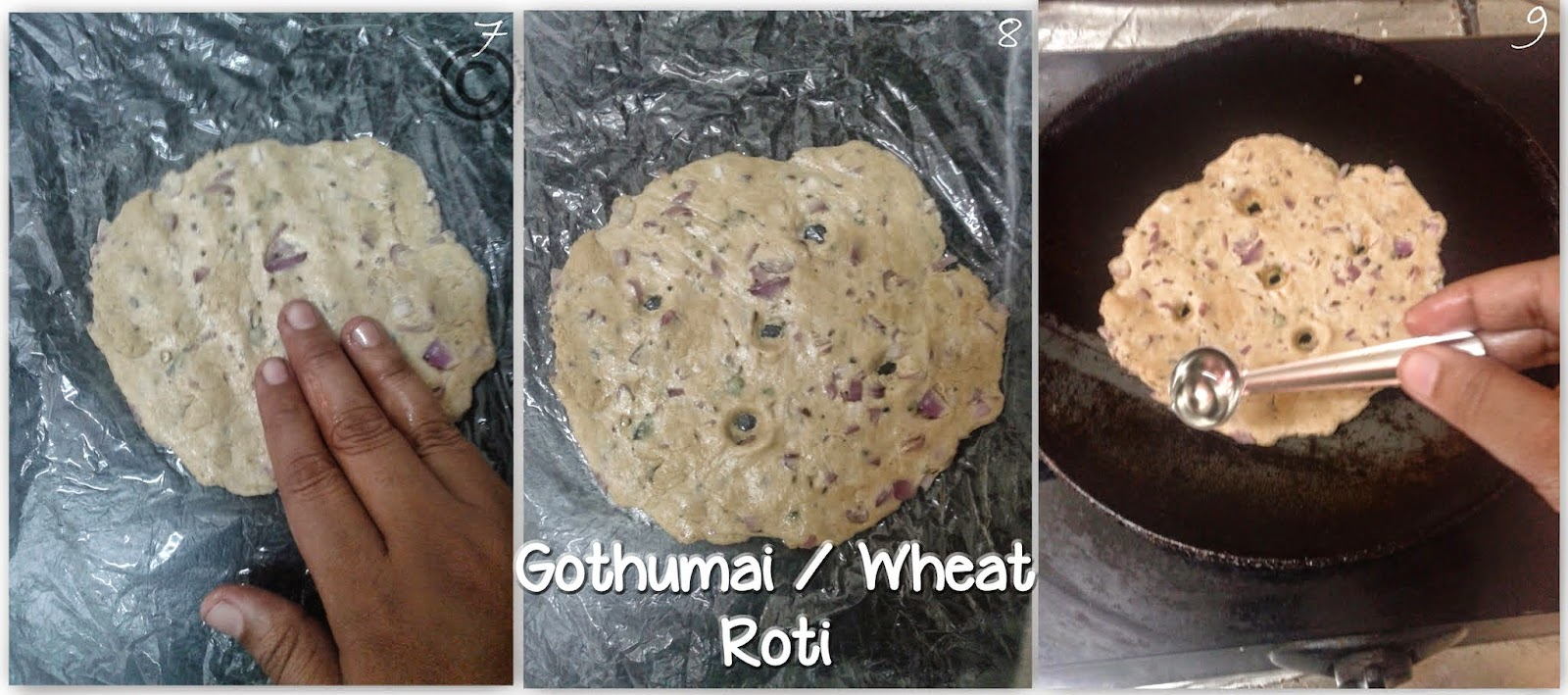 wheat-shallot-roti