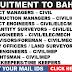 GULF JOBS - RECRUITMENT TO BAHRAIN