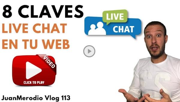 Cómo usar una herramienta de Live Chat en tu Web