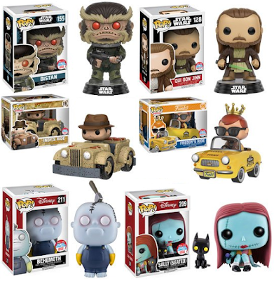 Funko's New York Comic Con 2016 Exclusives Wave 5 – Star Wars, Rogue One, Indiana Jones & More!