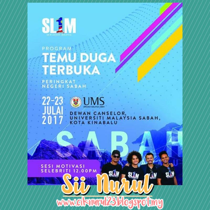 Program Temuduga Terbuka SL1M Peringkat Negeri Sabah 2017