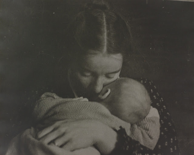 Mother and Child Exquisitely Beautiful Vintage