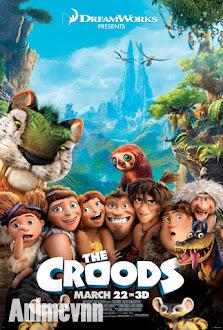 Cuộc Phiêu Lưu Của Nhà Croods - The Croods 2013 Poster