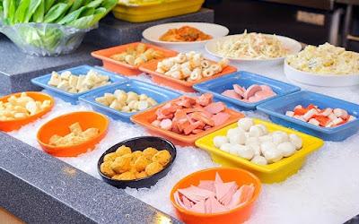 Seoul Garden Buffet Selection