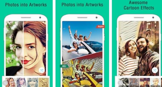 Download  5 Aplikasi  Android Untuk Mengubah Foto Wajah Anda ke Cartoon  11