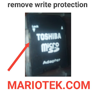 two simple ways to remove write protection from micro sd card adapter