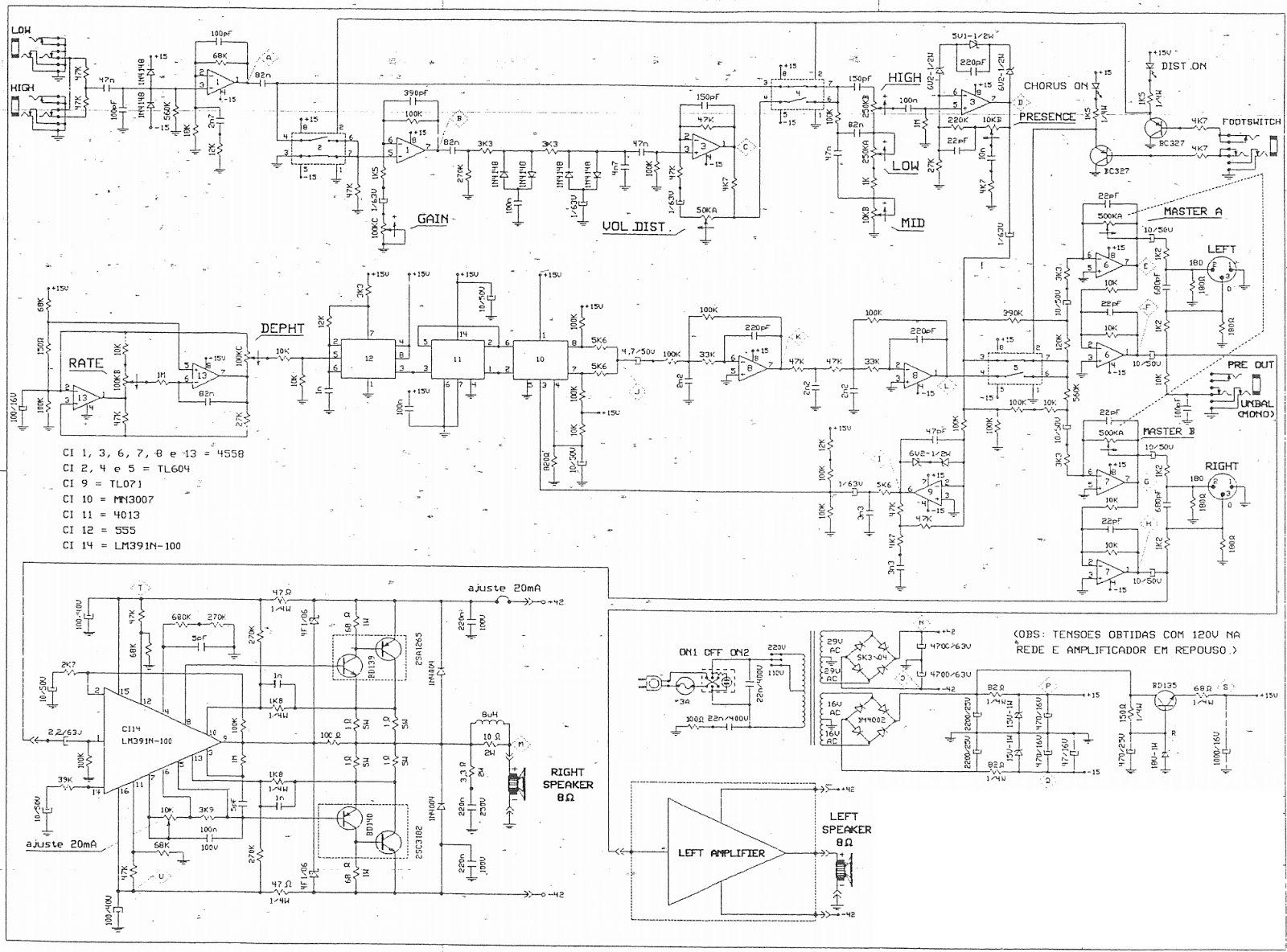 stereo lifier circuit diagram using power transistors schematic Component to DVI Wire Diagram power transistors with lm391 or at the entrance pre