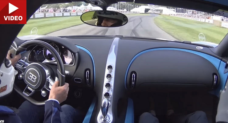 New Bugatti Chiron Is Like A Caged Beast On Goodwood's Hill Climb