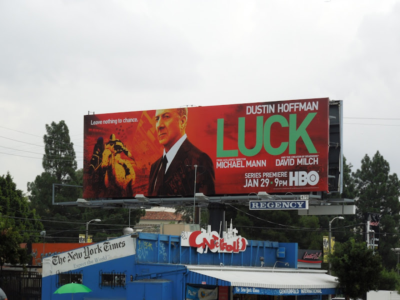 Luck HBO billboard