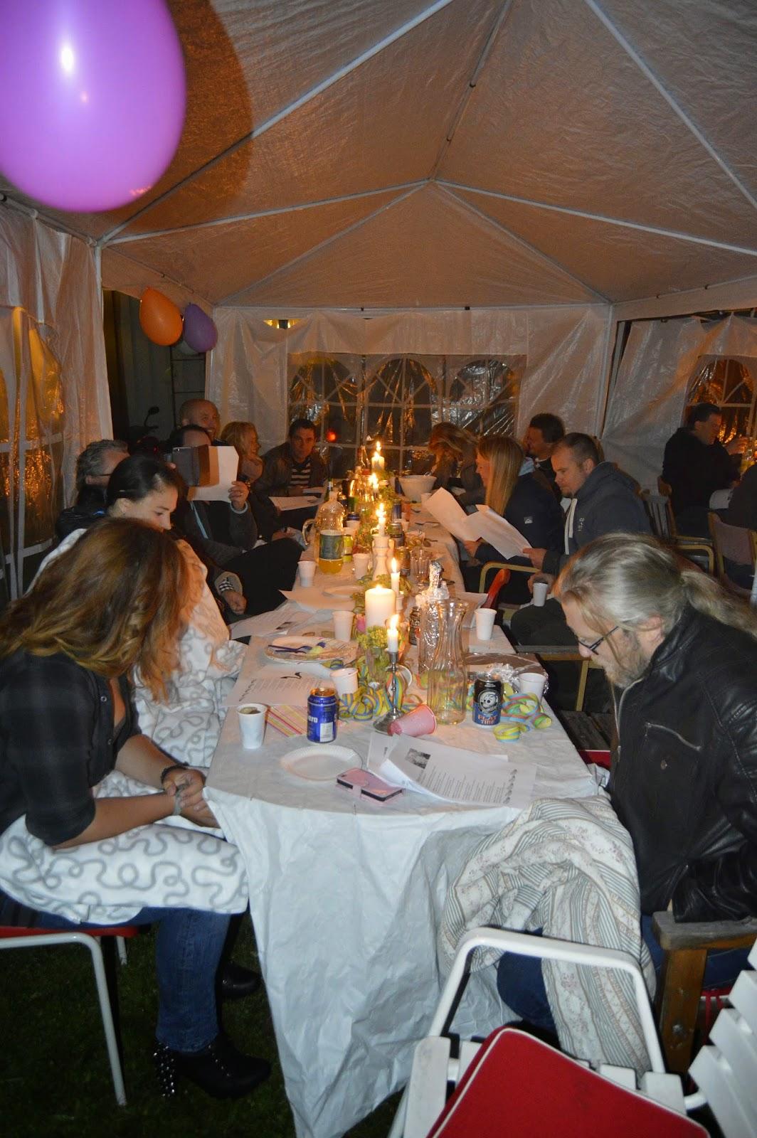 40 års fest hemma hagbacken..se ~: Min fantastiska 40 årsfest (Varnar  40 års fest hemma
