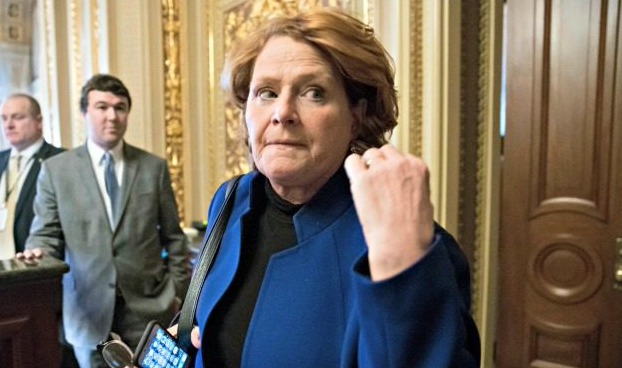 Heidi Heitkamp Admits She Did Not Make 'Smart Political Move' By Voting Against Brett Kavanaugh