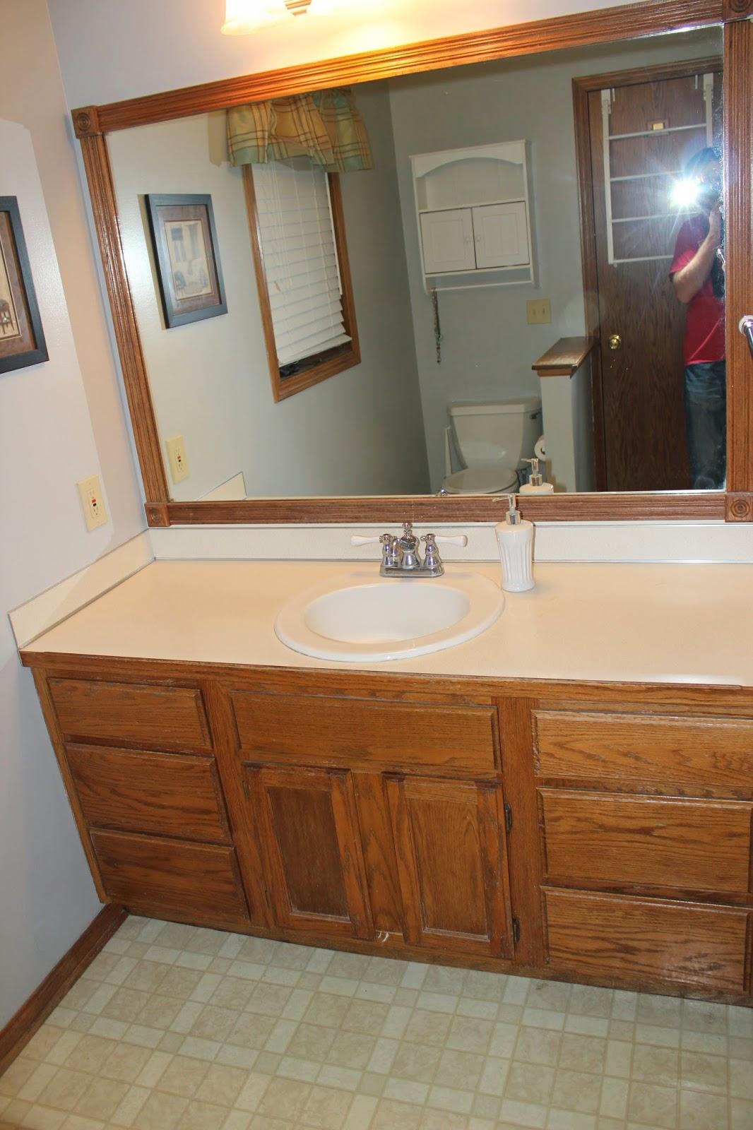 LADDitude: Our DIY Bathroom Remodel for under $300