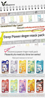 Elizavecca Power Ringer Mask Pack - calendario
