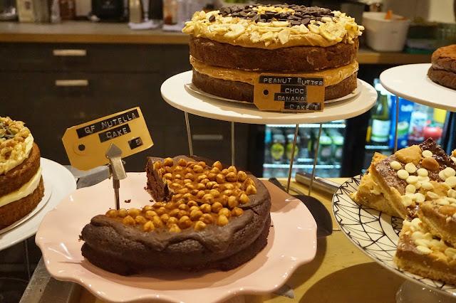 gluten free nutella cake