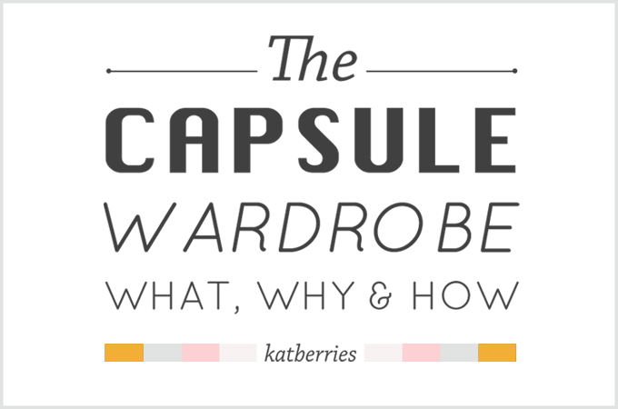 A guide to building a capsule wardrobe