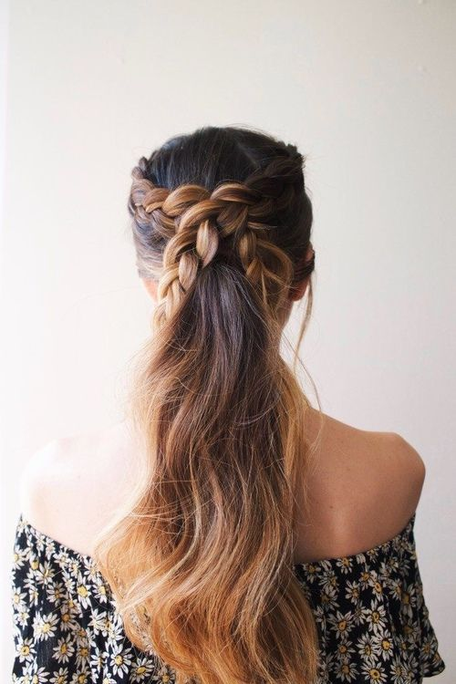 beautiful hairstyle idea to try right now