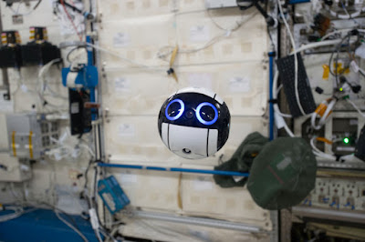 Meet the adorable robot camera Japan's space agency sent to the ISS