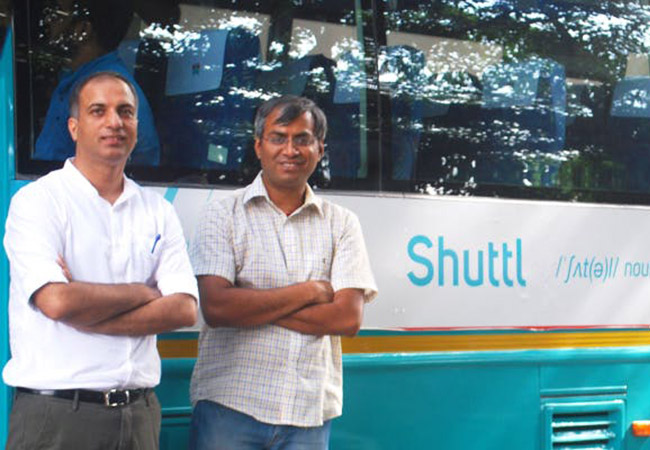 Tinuku Bus-sharing app Shuttl raised $11 million Series B from Amazon