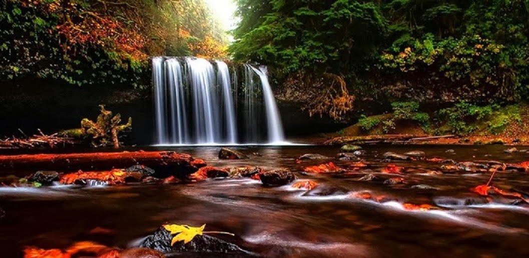 Hot Girl Wallpaper Beautiful 3d Nature Waterfall Hd Wallpaper Free
