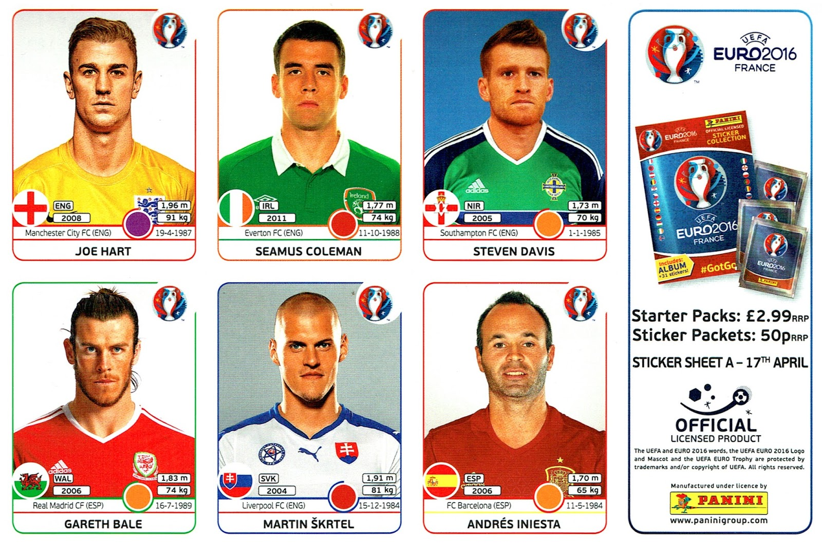 Got, got, need! Panini launches Wales Official Euro 2016 Campaign ...