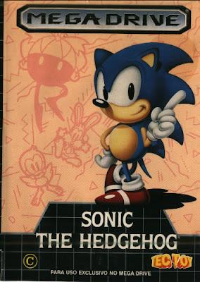 Rom de Sonic the Hedgehog - Mega Drive - PT-BR