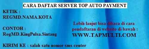 pendaftaran top auto payment