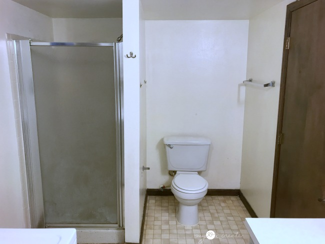 toilet and shower side