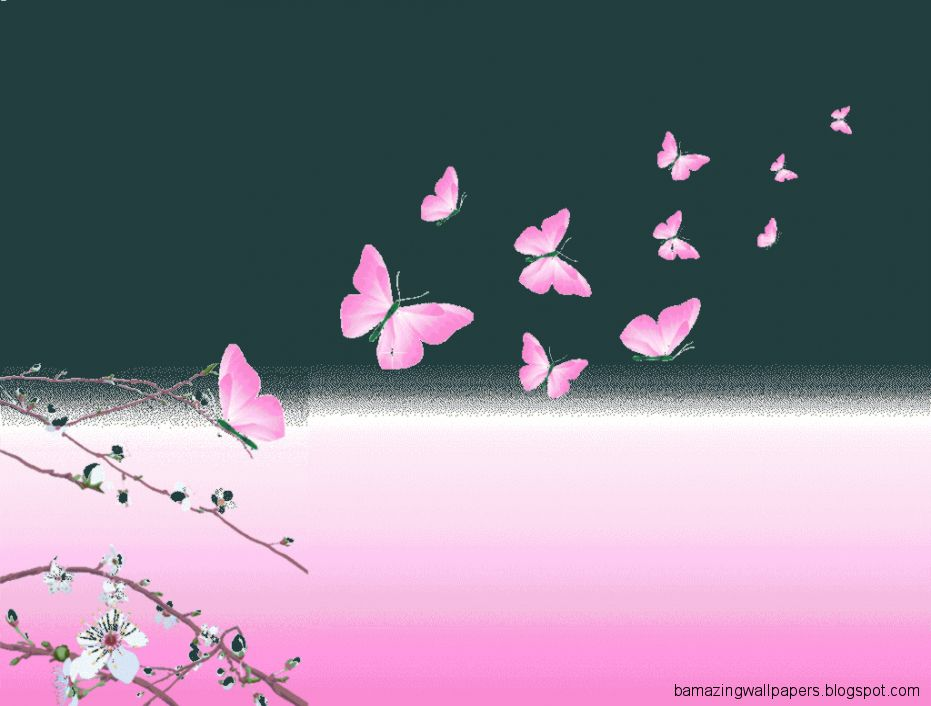 wallpaper pink butterfly - photo #13