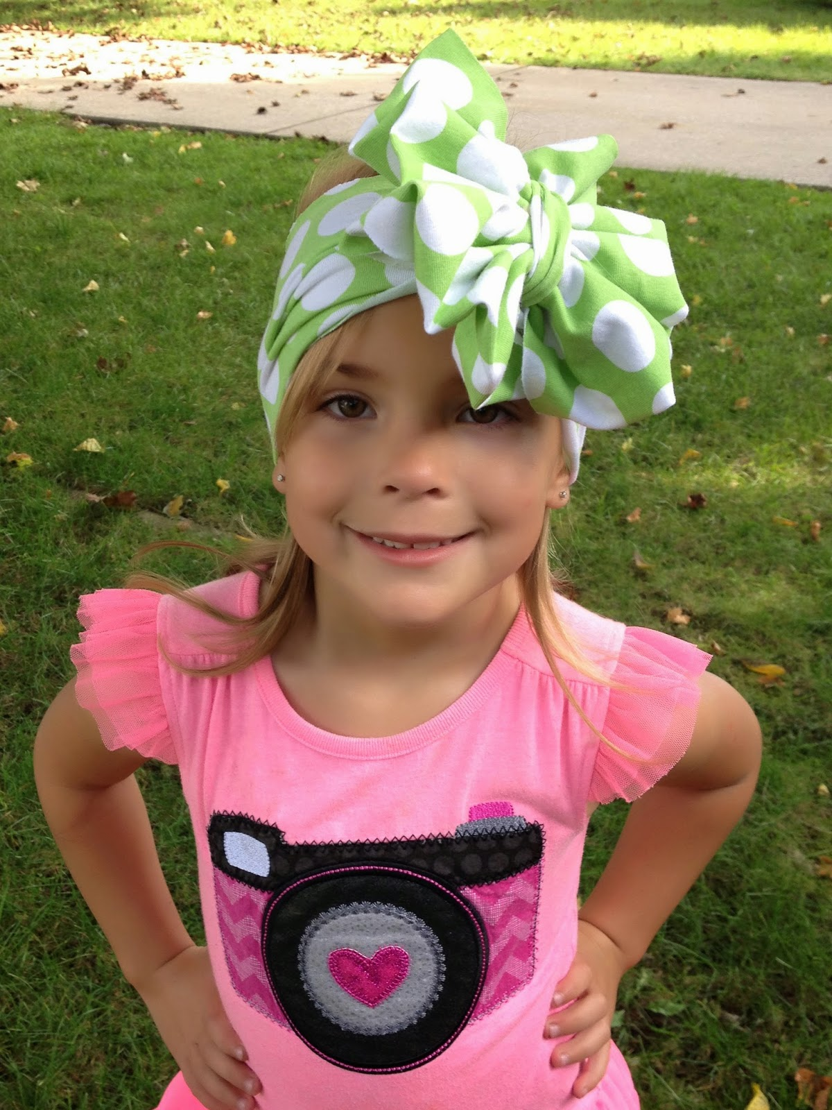 Create Kids Couture Knit Turban Headband Tutorial