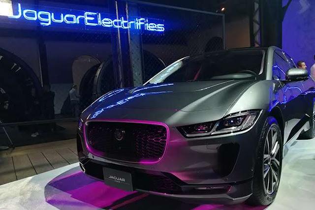 Jaguar I-Pace, ya en México