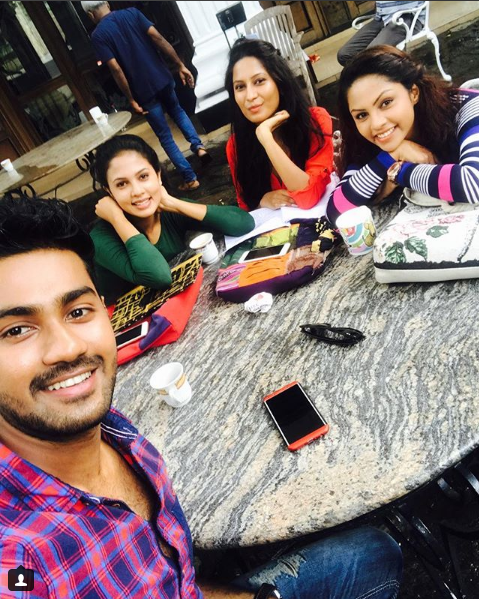 Shalani With Friends