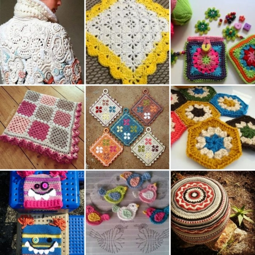 More Than 10,000 Crochet Patterns & Pieces