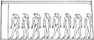 Twilight of Creation: Budge, 'Oldest Company of the Gods', Gods of the Egyptians