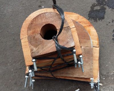 wooden block, wooden block supporting pipe, jual wooden block, jual woden blok, harga woden blok