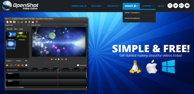 OpenShot Video Editor - 15+ Best Video Editing Software For YouTube