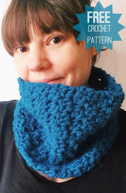 Free Crochet Cowl Pattern from Vicki Brown Designs