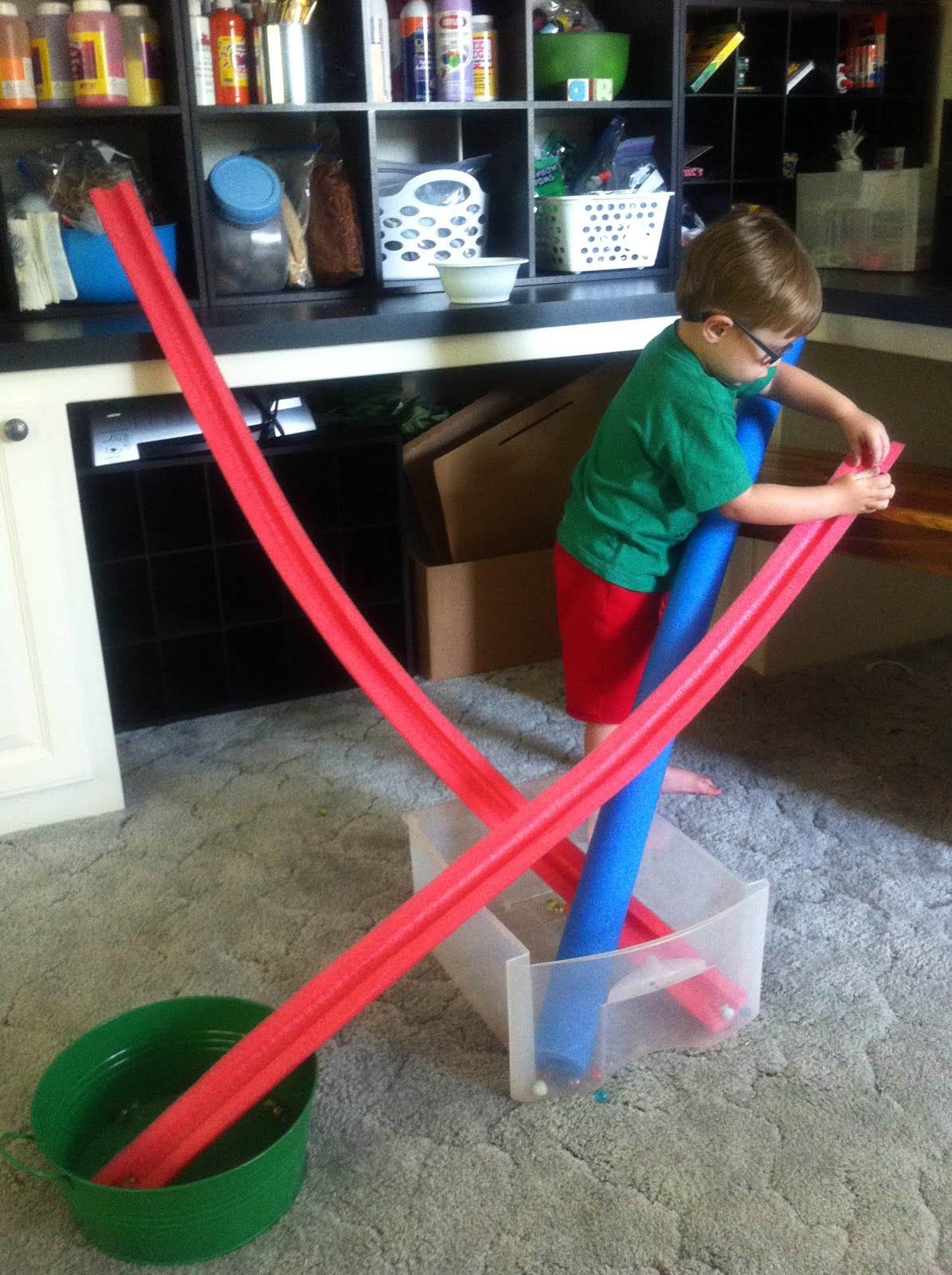 Easy Diy Marble Run